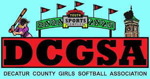 Decatur County Girls Softball logo